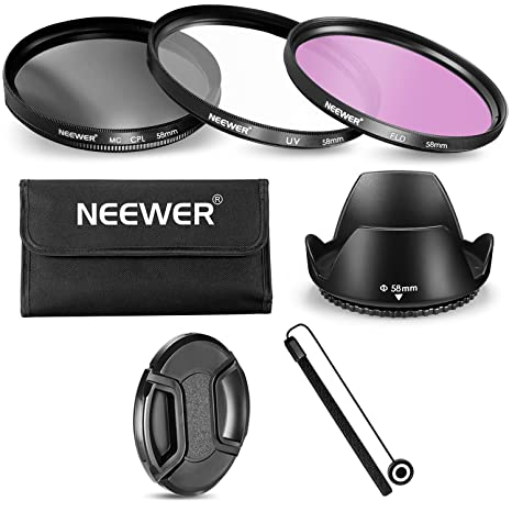 Review Neewer 58MM Lens Filter