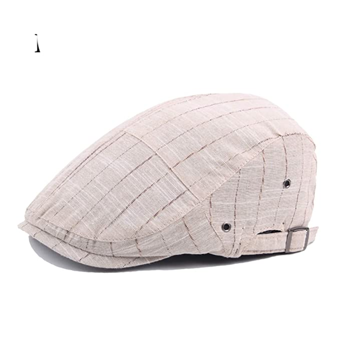 Fashion Striped Summer Sun Hats for Men Women Casual Cotton Beret Caps Gorras Planas Boinas Flat