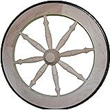 8d9a8006ac6b Amazon.com: Tea Cart Wheel - 14.5 Inch Cherry Tea Cart Wheel with ...