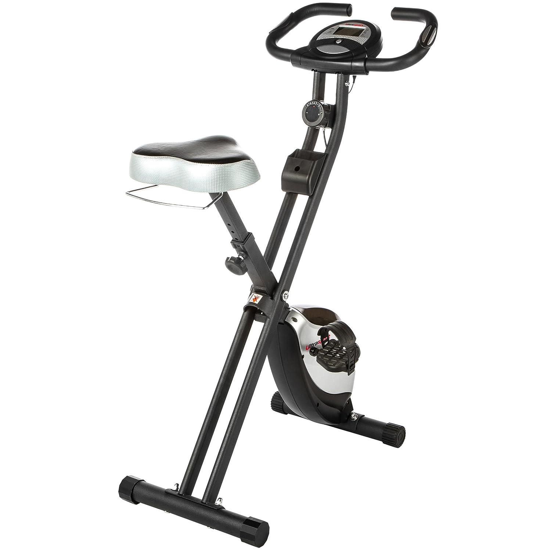 ultrasport foldable exercise bike with pulse sensor grips 200b amazoncouk sports u0026 outdoors