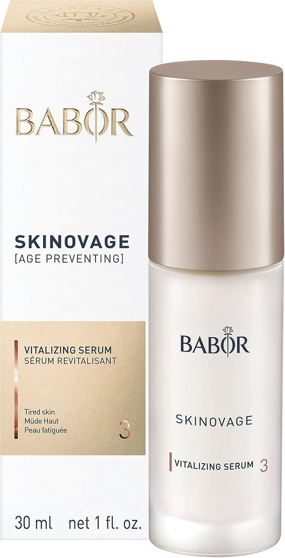 BABOR SKINOVAGE - Sérum revitalizante facial para pieles oscuras y secas, cuidado intensivo para mayor elasticidad, antienvejecimiento, 1 x 30 ml