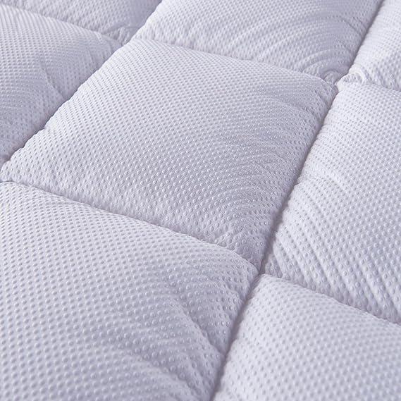 Bedecor® Colchoncillos,Colchón Topper de Microfibra,Antialérgico,Suave-(160x190/200 cm): Amazon.es: Hogar