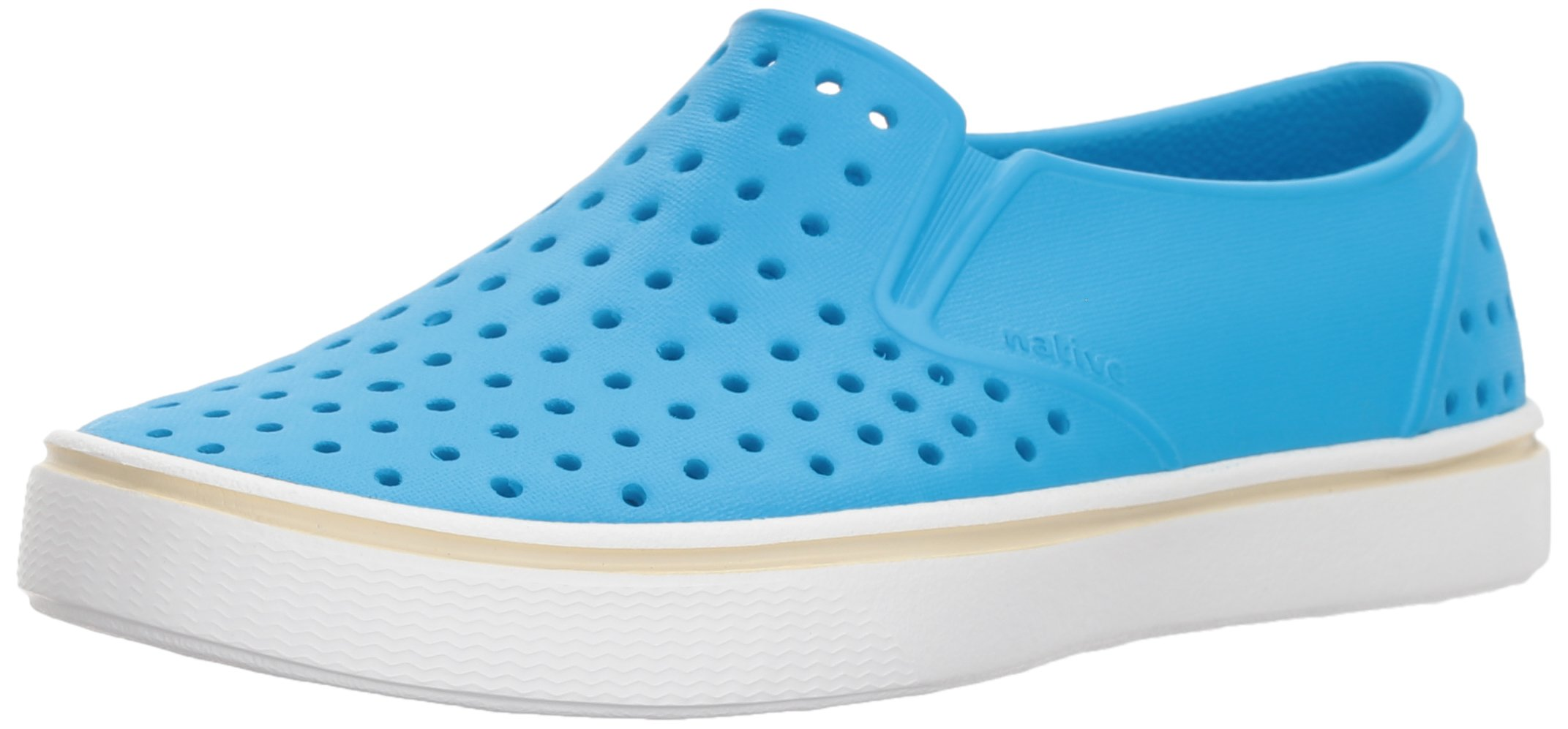 Native Kids unisex-kids Miles Water Shoe,wave blue/shell white,5 Medium US Big Kid