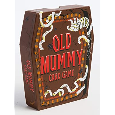 Old Mummy Card Game: (Spooky Mummy and Monster Playing Cards, Halloween Old Maid Card Game): Samoun, Abigail, Sreenivasan, Archana: Toys & Games