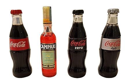imanes imanes nevera cuatro Coca Cola + campari: Amazon.es: Hogar