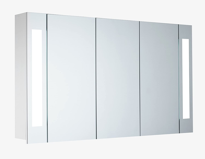 """Großartig Spiegelschrank 3 Türig Beste Wahl Mebasa Mybspkmd16 """"corner"""", Türen, Verstellbare Glasböden, T5"""