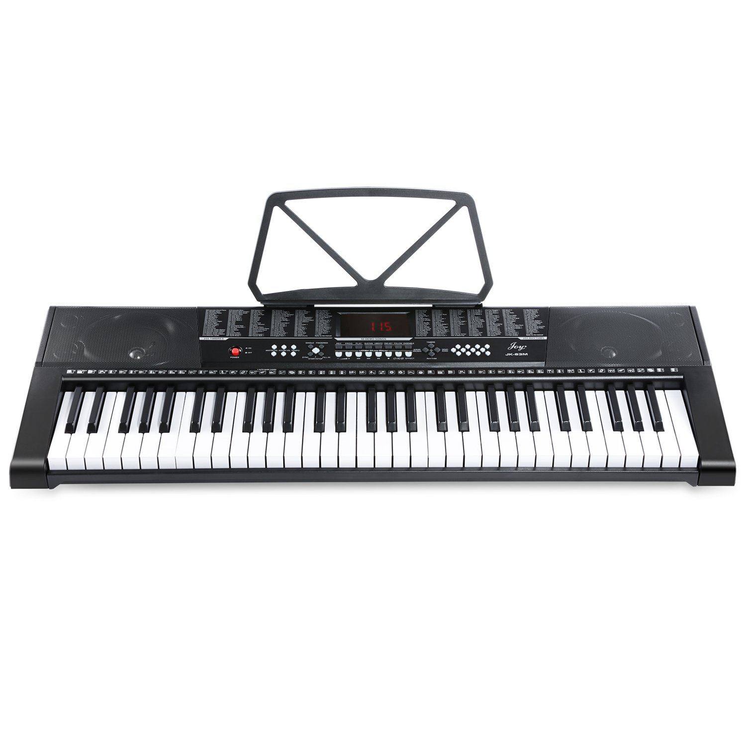 Joy JK-63M-KIT With USB 61-Key Keyboard Set Including Headphone, Stand, Stool and Power Supply CHINA JOY KEYBOARDS CO. LTD