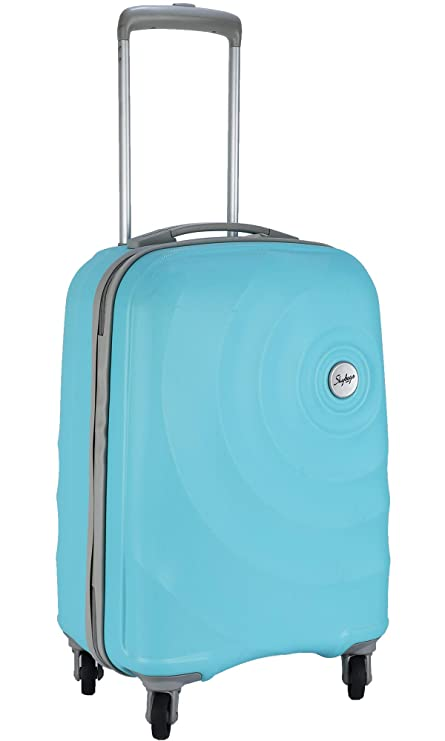 1ed92d1ccd9f Skybags Mint 55 cms Polycarbonate Turquoise Hardsided Cabin Luggage  (MINT55TTRQ)