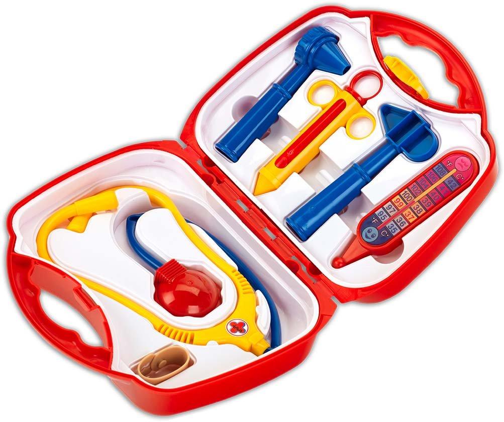Theo Klein 4466 - Doktorkoffer klein, gr.Instrumente B0002ML3P2 Sonstiges Spielzeug