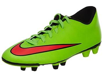 Nike Botas Mercurial Vortex II FG Verde -Ronaldo-: Amazon.es: Deportes y aire libre