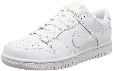 Nike Court Borough Low, Scarpe da Basket Uomo, Bianco (White/White/White), 42 EU