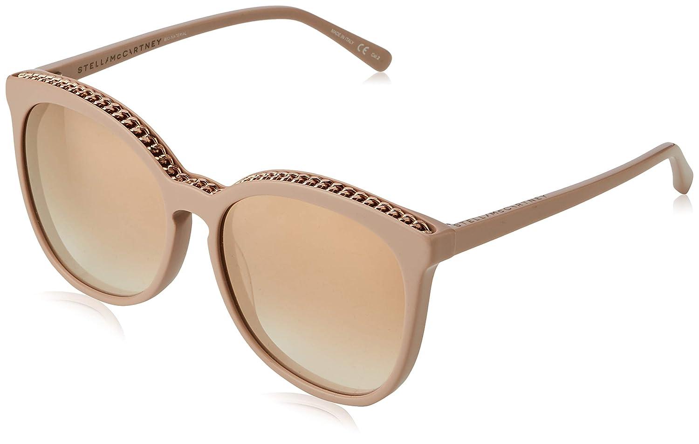 Stella McCartney SC0074S 004 Gafas de Sol, Rosa (004-Pink ...