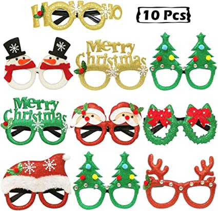 Funny Christmas Tree Sunglasses Christmas Snowmen Party Accessory Party Prop