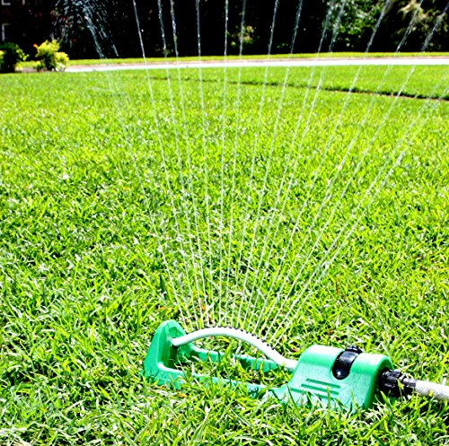 Oscillating Sprinkler System Garden Sprinklers Water Lawn And Yard Better Than Home Irrigation