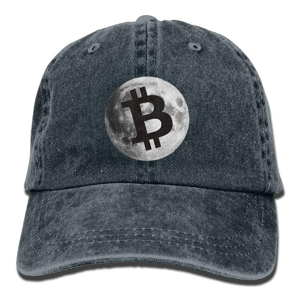 Bitcoin Logo Moon Luna Adult New Style COWBOY HAT