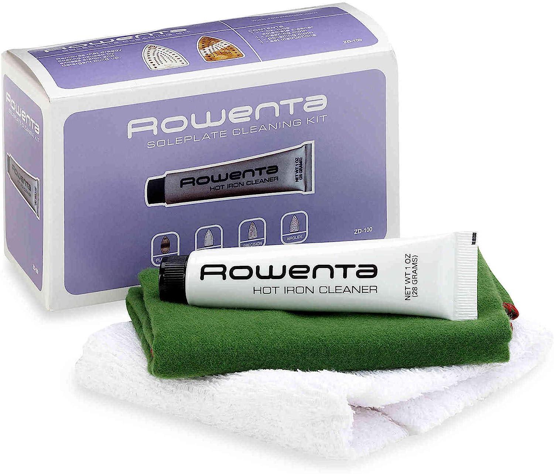 Rowenta ZD100D1 - Kit de limpieza para planchas Rowenta