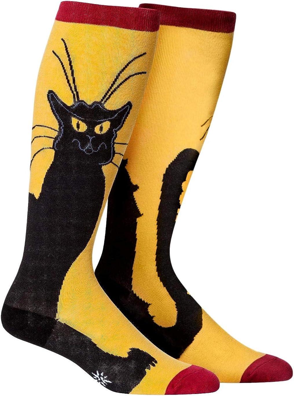Sock It To Me, Stretch Wide-Calf Knee High Socks