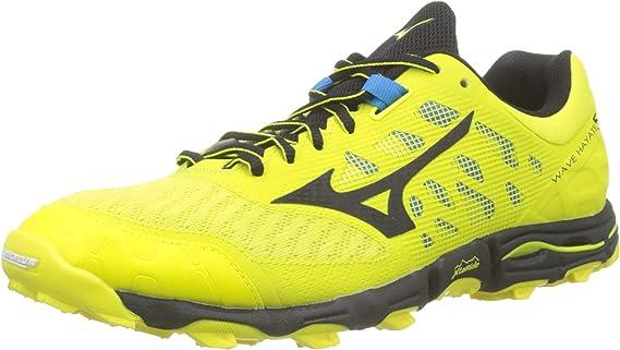 Mizuno Wave Hayate 5, Zapatillas de Running para Asfalto para Hombre, Amarillo, 46 EU: Amazon.es: Zapatos y complementos