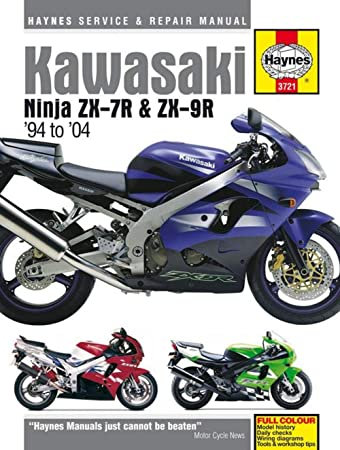 haynes manual 3721 kaw ninja zx 7r zx 9r amazon co uk car rh amazon co uk The Illustrated Ninja Handbook Ninja Healing Techniques