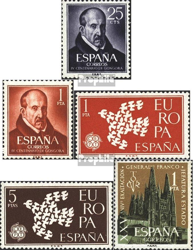 Prophila Collection España 1264-1265,1266-1267,1268 (Completa.edición.) 1961 Sellos Especiales (Sellos para los coleccionistas): Amazon.es: Juguetes y juegos