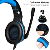 Anksono Stereo Gaming Headset for PS4, Xbox