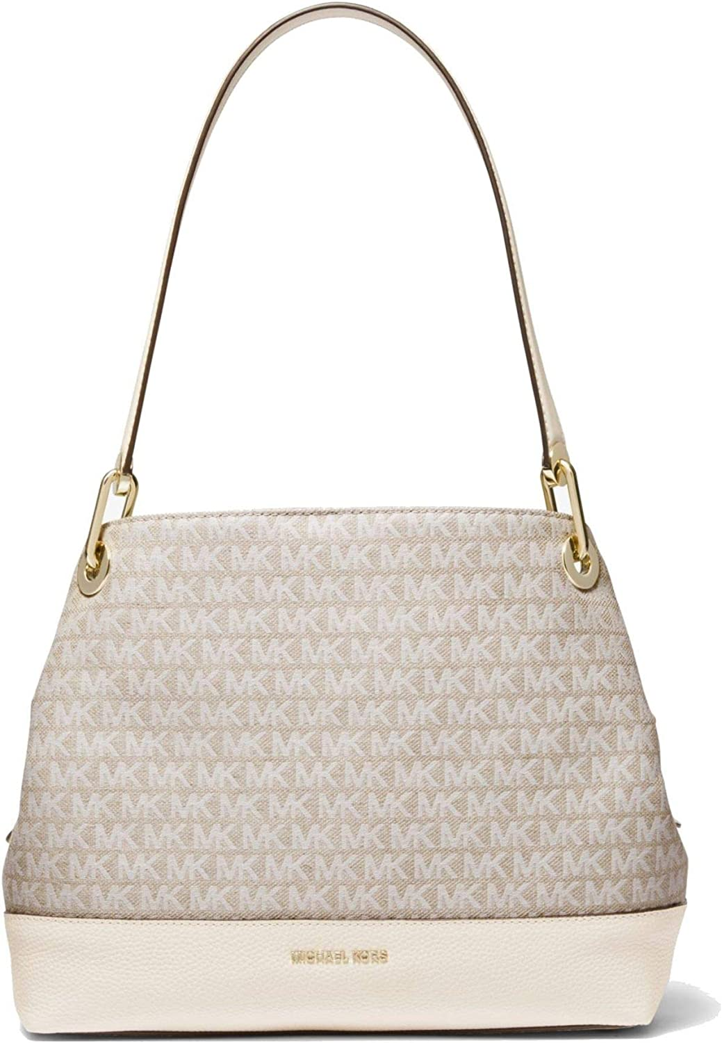 MICHAEL Michael Kors Raven Large Logo Jacquard Shoulder Bag