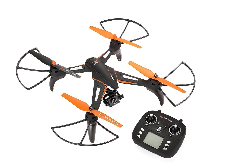 orden ahora disfrutar de gran descuento Zoopa Zoopa Zoopa Phoenix dron HD con HD Cámara y Gimbel a la Estabilización de Imagen – Negro de Color Naranja – Cochegar y Batalla  compras en linea