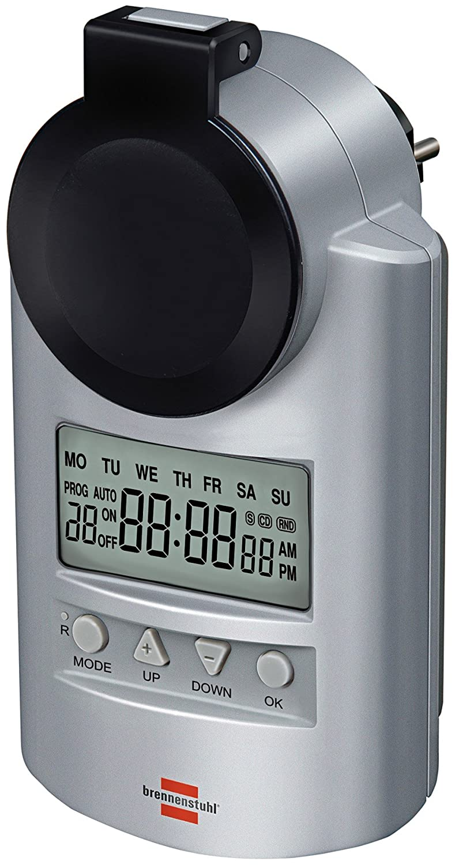 Brennenstuhl Primera-Line Digital hebdomadaire DT IP44, 1507490