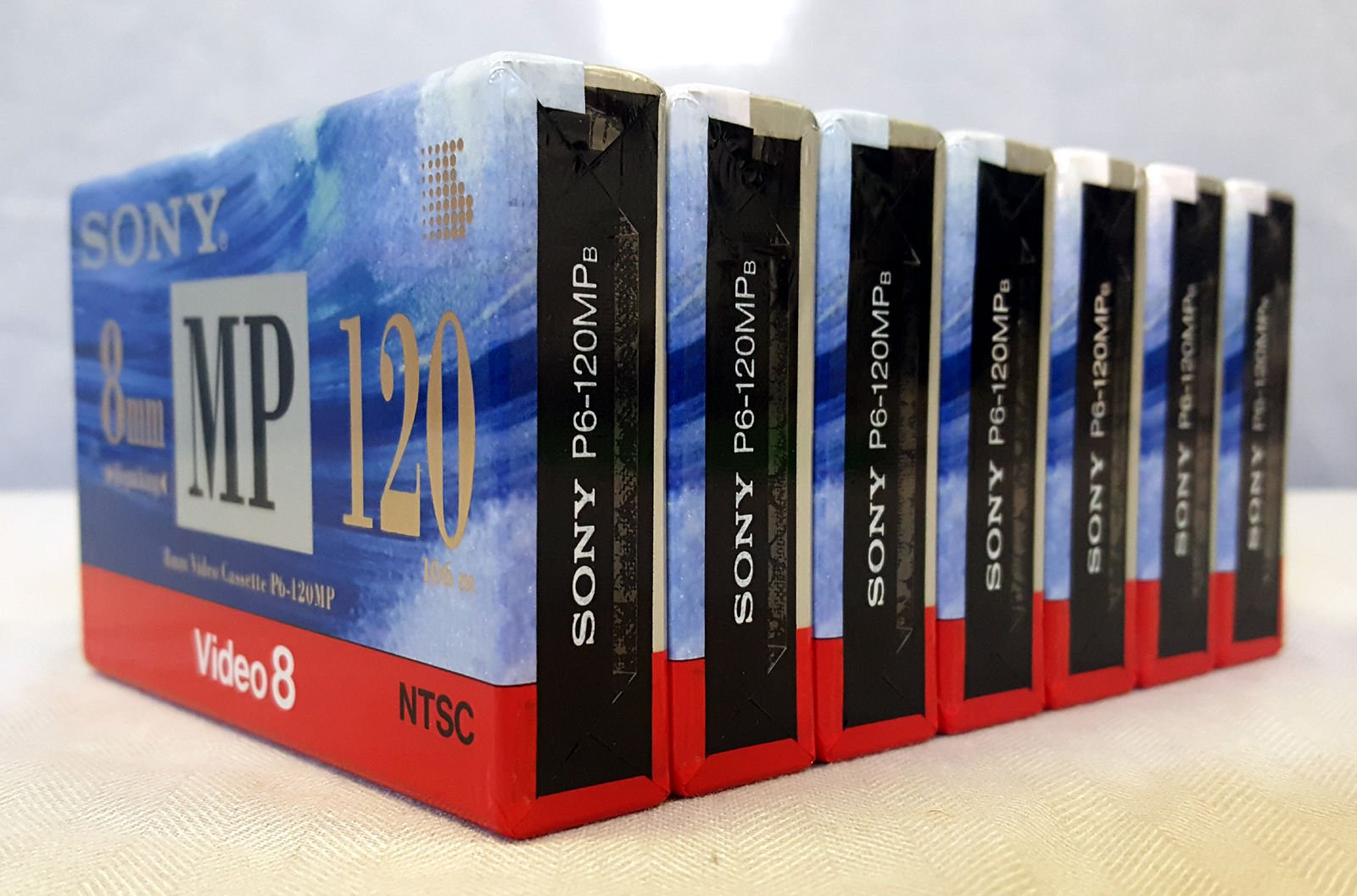 Sony 8MM Video Cassette P6-120MP - Pack of 7 by Son