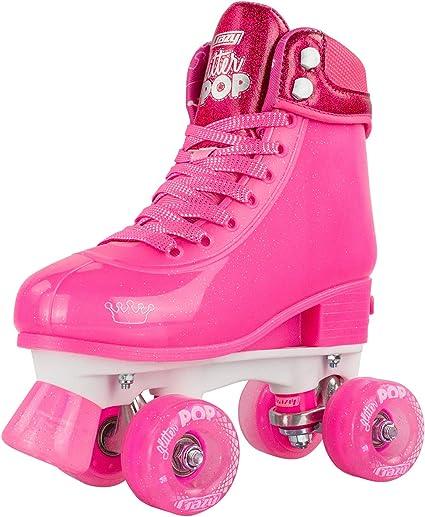 Girls and Kids by Crazy Skates Adjustable POP Roller Skates for Boys