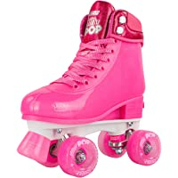 Crazy Skates Adjustable Roller Skates for Girls and Boys - Glitter Pop Collection - Available in 4 Colors