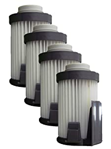 EnviroCare Replacement HEPA Vacuum Filters for Eureka DCF-10/14 Lightweight Uprights 4 Filters