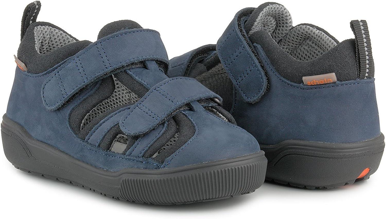 Schein Chen 367000 TN5 Navy Blue Orthopedic Extra Depth Sandal