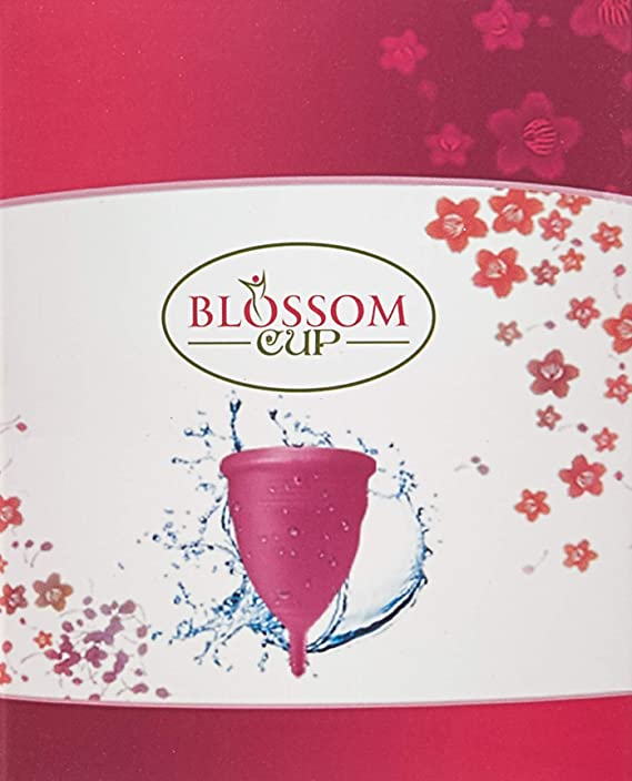 Blossom Menstrual Cup: Best for Collecting Menstruation Flow (Large, Black) by Blossom Menstrual Cup