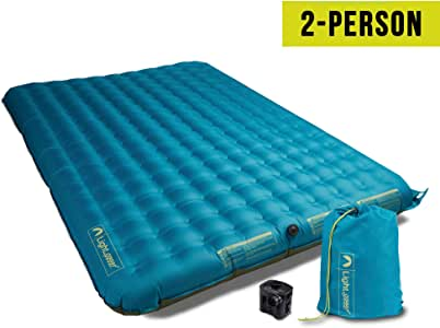 Amazon.com: Lightspeed Outdoors 2 Person PVC-Free Air Bed ...