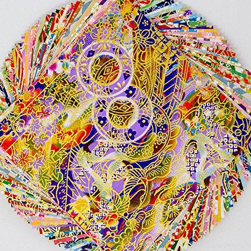 Japanese Paper Yuzen Washi Chiyogamim 3.9x3.9 50sheets Y00493