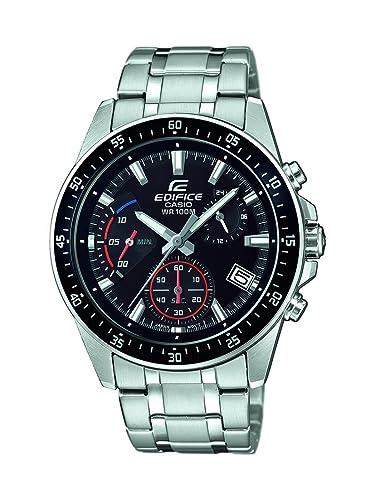 Casio Reloj Cronógrafo para Hombre de Cuarzo con Correa en Acero Inoxidable EFV-540D-