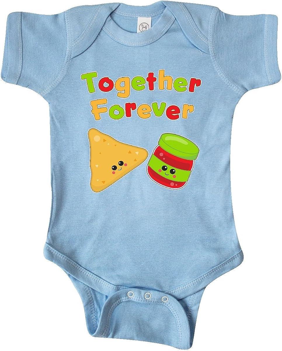 inktastic Nacho Chips-Nacho Average Grandpa Infant Tutu Bodysuit