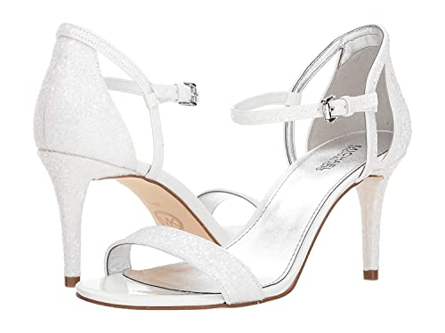 e2399230bf03 MICHAEL Michael Kors Womens Simone Glitter Heel Dress Sandals  Amazon.ca   Shoes   Handbags