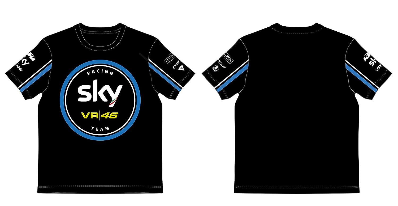 VR46 T-Shirt Enfant Kid ré plique Sky Racing Team Valentino Rossi TG. 12/14