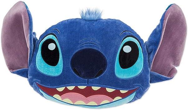 Disney Store Cojín Grande con Cara de Stitch 40cm - Lilo y Stitch: Amazon.es: Juguetes y juegos