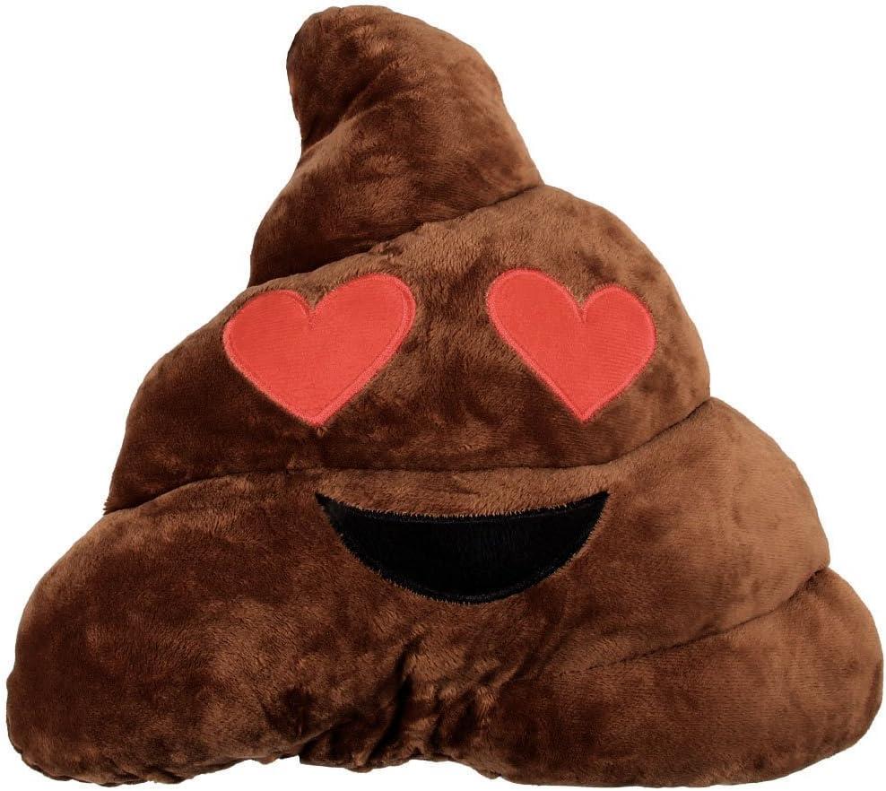 Decorative Soft Cushion Smiley Emoji Face Emoticons  Comfort Cult Smiley Plush Decoration Gift Idea scimmia non sentire Ki-30