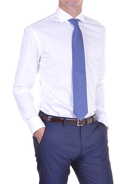 Hugo Boss Boss Camisa Hombre Slim Blanco 43