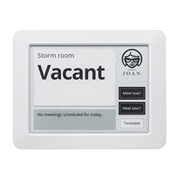 Joan Meeting Room Scheduling Manager 6 E Paper Display Amazon Co