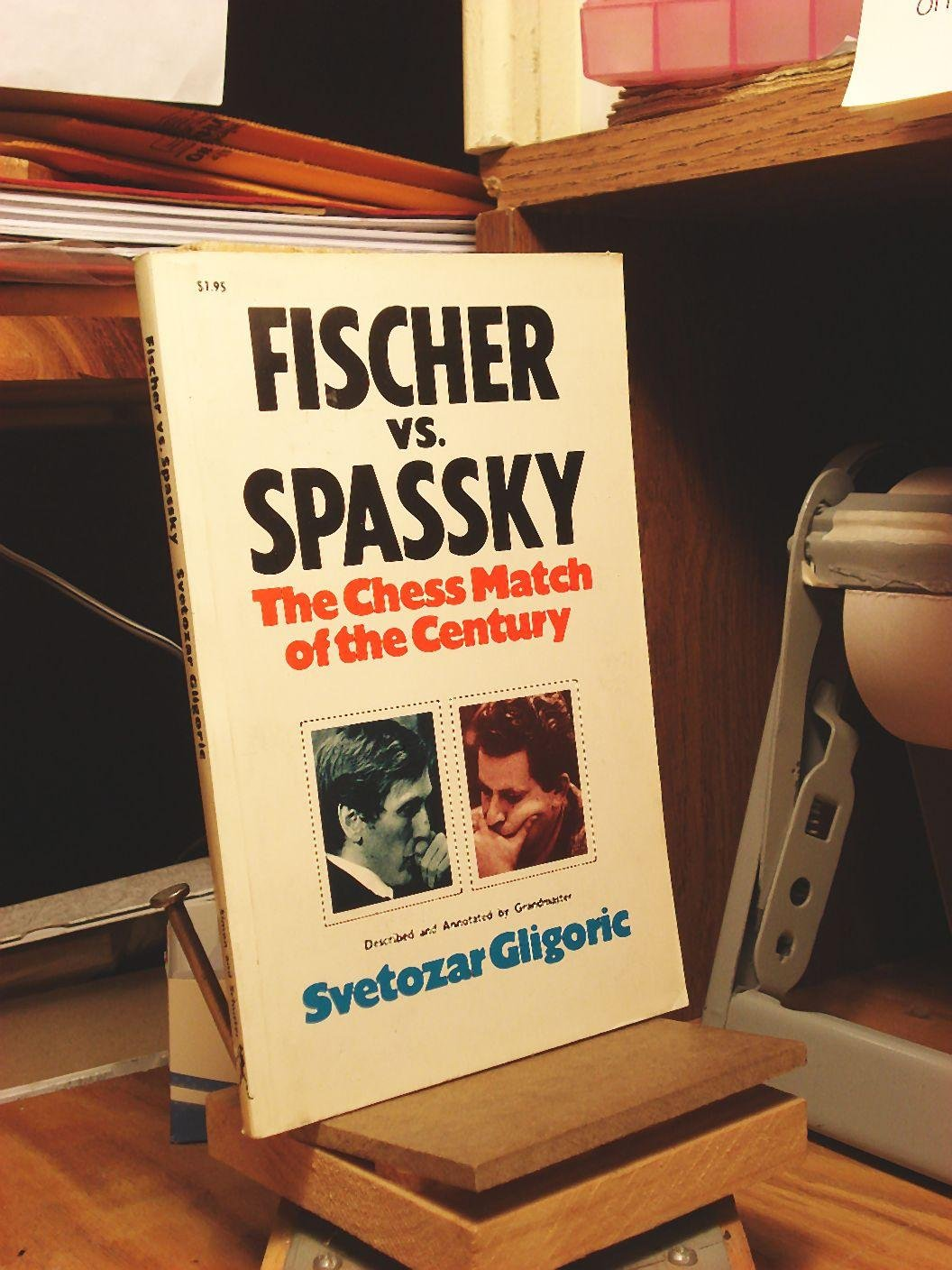 Fischer vs. Spassky: World Chess Championship Match, 1972, Gligoric, Svetozar