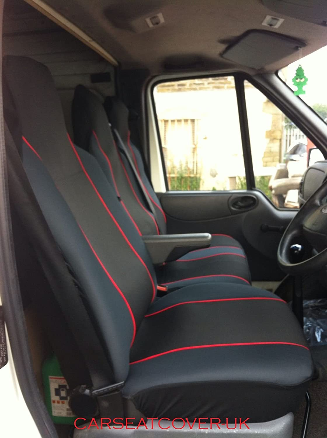 TO FIT A FORD TRANSIT  2015 SWB,VAN SEAT COVERS BLACK  WATERPROOF