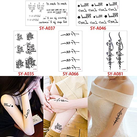 adgkitb 2 Piezas Impermeable Tatuaje Pegatina Vida del árbol ...