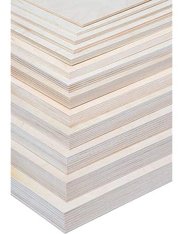 AUPROTEC Tischplatte 18mm grau 1400 mm x 600 mm rechteckige Multiplexplatte melaminbeschichtet von 40cm-200cm ausw/ählbar Ecken Radius 100mm Birken-Sperrholzplatten Auswahl 140x60 cm