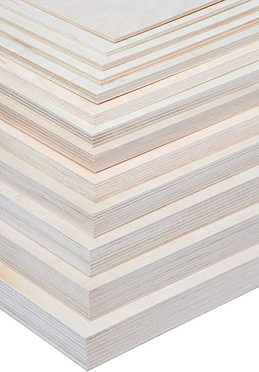 15 mm Multiplexplatte Zuschnitt Sperrholz Platten Holz Massiv unbehandelt