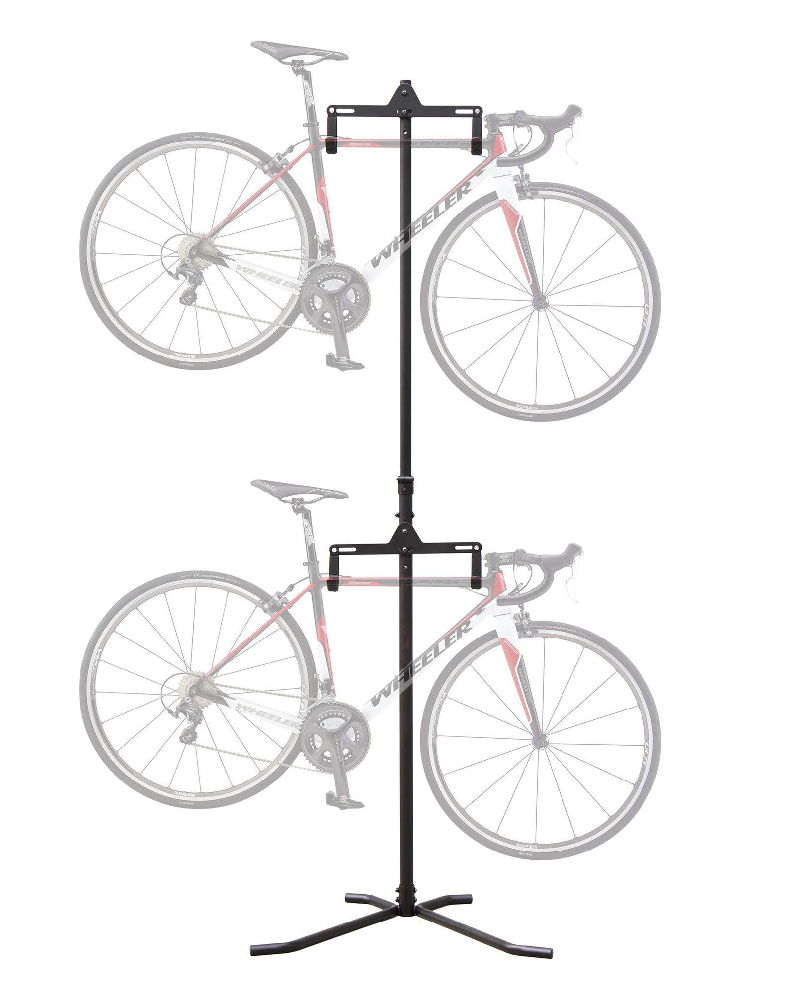 CyclingDeal 2 Bike Bicycle Floor Rack Stand